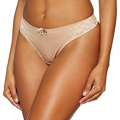 Beige 40 CURE RECORDS SMOOTHIE THONG PERIZOMA DA DONNA (WILD BLUSH) (TAGLIA