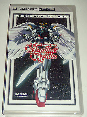 Sony Playstation Portable PSP UMD Movie - Endless Waltz Gundam Wing The Movie