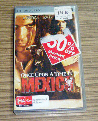 Sony Playstation Portable PSP UMD Movie - Once Upon A Time In Mexico