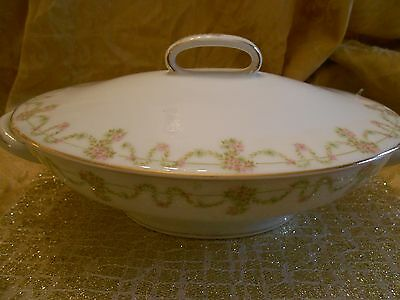 REDUCED AGAIN! Bavaria! Oval Tureen with Lid!
