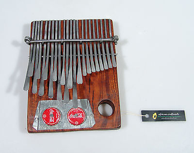 24 Key Medium Mbira Thumb Piano Kalimba - Handmade in Zimbabwe, ships from USA!