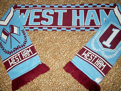 West Ham Football Scarf - Epl - Good Condition.