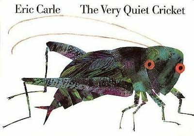 The Very Quiet Cricket Board Book: By Eric Carle