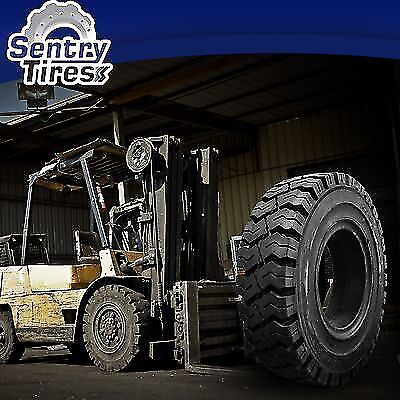 8.15-15 8.15x15 Sentry Tire Solid Forklift Tires (1 Tire) K PAT. 28x9-15