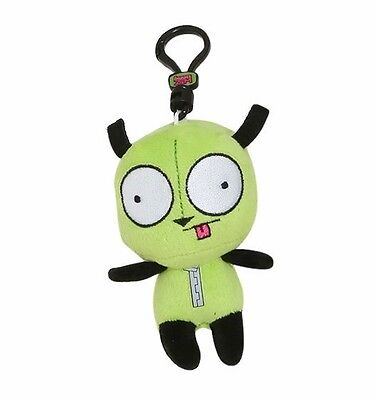 "INVADER ZIM Original Minis Plush Clip-Ons GIR IN DOG SUIT 4"" Blind Box Keychain"
