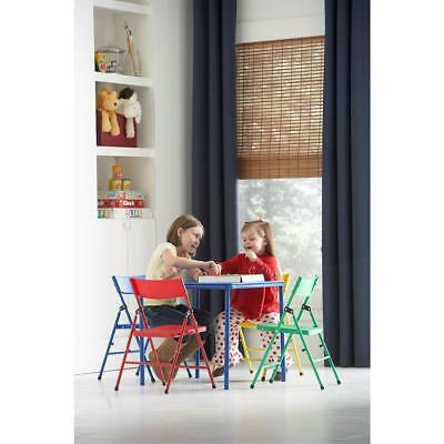 KIDS COLORFUL 5 Piece Folding Table and Chair Set - $76.12 | PicClick