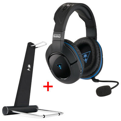 Turtle Beach Ear Force Stealth 520 Surround Sound Wireless Headset + Stand
