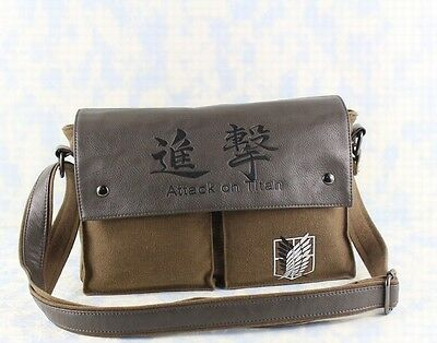 Neu Shingeki no Kyojin Attack on Titan Anime Messenger Tasche Bag 30x22CM 002