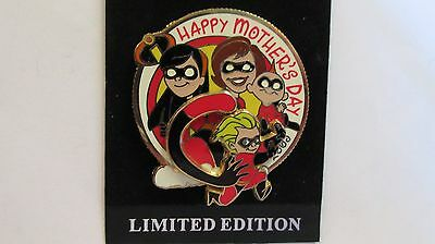 Disney World 2005 Happy Mother's Day From The Incredibles Trading Pin - LE 2.500