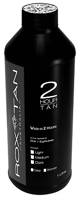 Rox Tan 2 Hour Tan Spray Tan Solution 1L Rox Tan