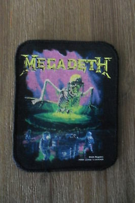 Megadeth Contaminated Sew On patch music