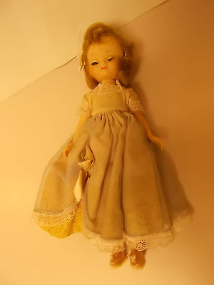 Vintage Betsy McCall Doll 8 Inches W/dress & Shoes