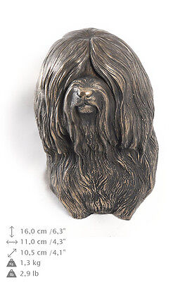 Tibetan terrier statuette to hang on the wall, Art Dog , CA