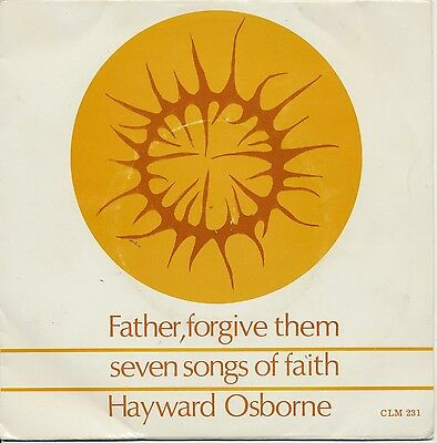 """PETE LEWIS """"Father, Forgive Them"""" (1969) 4 track christian EP"""