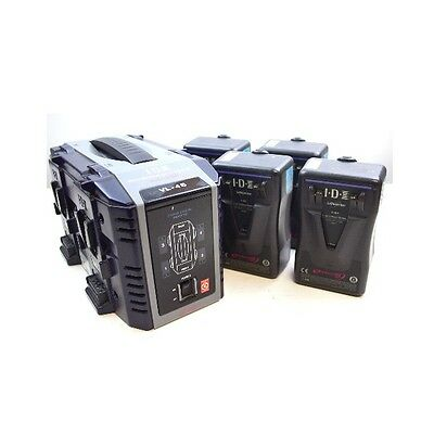 Idx Battery Kit With Charger Vl-4S & E-Hl9