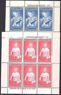 1962 NEW ZEALAND Health Stamps in Blocks of 6  SG 815/816  MNH/**