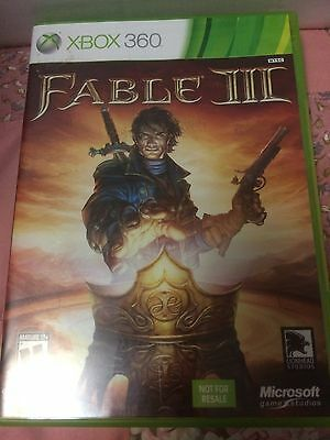 Brand New Sealed Fable 3 III (Microsoft Xbox 360, 2010) MINT