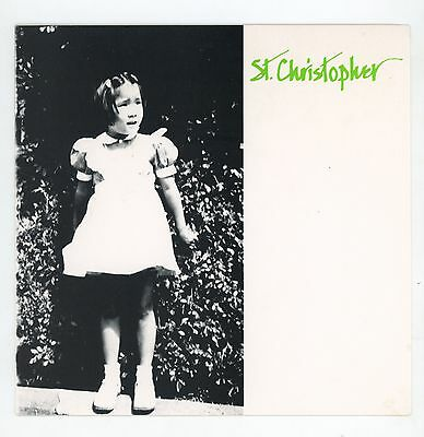 """indie UK: ST. CHRISTOPHER : All Of A Tremble  - 7"""" USA 1989"""
