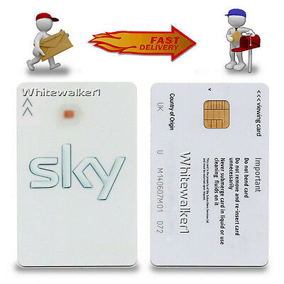 Activated Discoloured Sky Freesat Card - Sony Movies