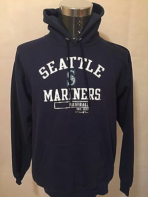MLB Seattle Mariners MED Club Pullover Hoodie by Winning Ways