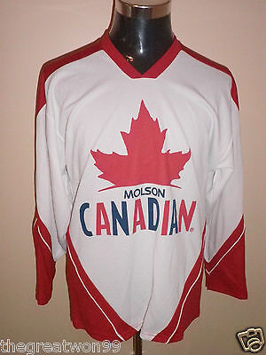 Molson's Canadian MED NHL style Promotional Ice Hockey Jersey by Teamwork