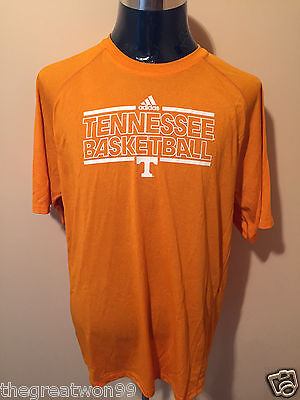 NCAA Tennessee Volunteers Basketball set XL Climalite TEE + MED Shorts by Adidas