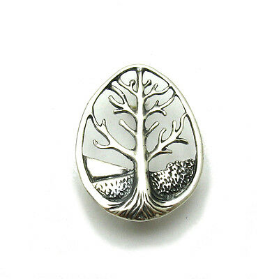 Sterling Silver Brooch Tree Of Life Solid 925 A000109 Empress
