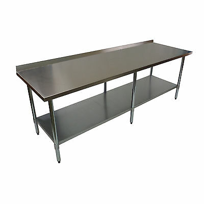 Catering Preperation Stainless Steel Wall Table - 2100mm (SSWT-210)