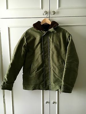 Vintage FRENCH NAVY N1 Deck Jacket 60s size M very good condition