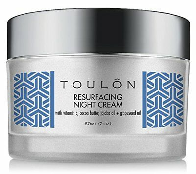 Night Cream Natural Face Moisturiser for Dry & Mature Skin Reduce Wrinkles 60ML