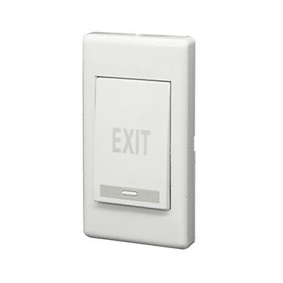 Exit Push Release Button Panel for Electric Door Strike White PK