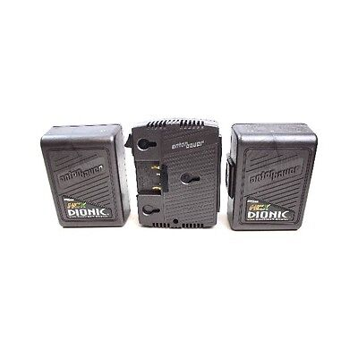 Anton Bauer Twin kit 2x HCX-DIONICS 120W + Twin charger