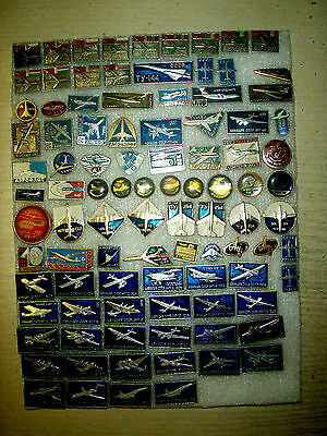 110 pin badge  PLANES      USSR (Russia)  №7