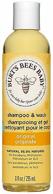 Burt's Bees Baby Bee Shampoo and Wash, 235 ml  *FREE DELIVERY*