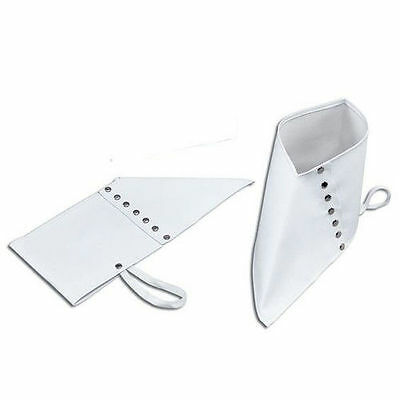 1920's Spats Shoe Covers Gangster Fancy Dress Costume Accessory