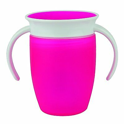 Munchkin Miracle 360 Degree Trainer Cup (207 ml, Pink) **FREE DELIVERY**