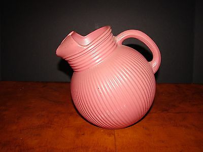 Antique Pink Ball Picther