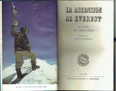 La ascensión al Everest. John Hunt.