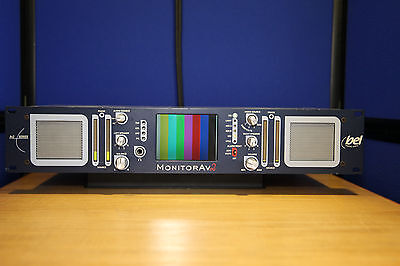 Bel Digital audio AV2 - 4 Channel Audio/Video Broadcast Monitor # 008185A