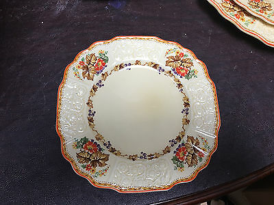 "Myott Staffordshire china 7 3/4"" Salad Plate(s) fh2909 pattern"