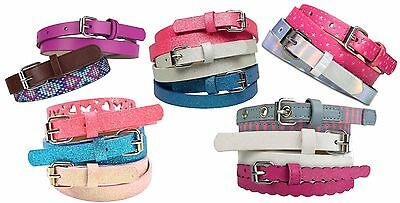 NEW! Girls Belt - CHOOSE YOUR FAVS! - SHIP UP TO 4 FOR ABOUT $3.00