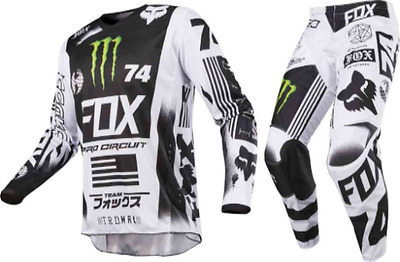 Motocross,enduro,completo Fox 180 Monster/pro Circuit Special Edition