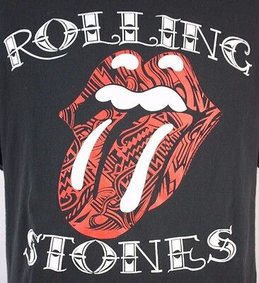 XL The Rolling Stones Tongue Lip Design Logo Tattoo You  Mick Jagger Keith Richa