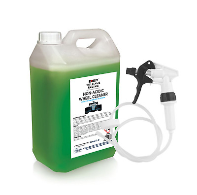 Alloy Wheel Cleaner Williams Racing 5 Litre Non Acidic with Long Hose Trigger