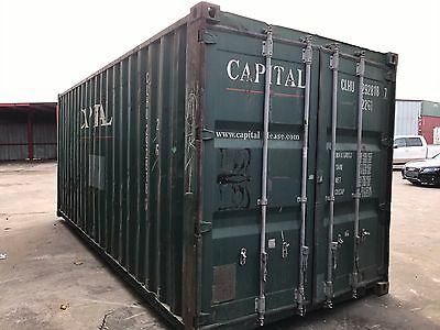 20' used STD Shipping Storage Container HOUSTON, TX