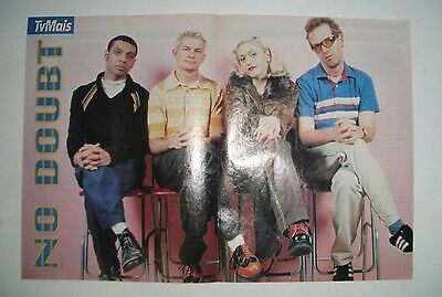 Collection of 2 vintage No Doubt Posters, early 90's Portugal