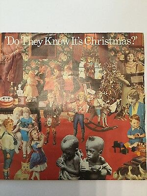 Band Aid - Do They Know It's Christmas / Feed the World || 1984 Vinyl Record