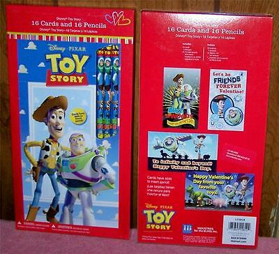 32 Toy Story Pencils and Valentine Cards Party Favors OR use as School Supplies