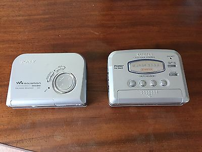 Sony Walkman Mega Bass WM-EX422 & Aiwa Walkman Logic Control PX207 Sony Battery