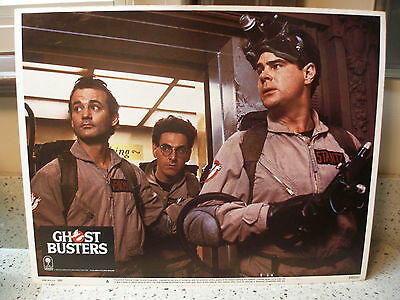"""1984 Original Columbia Pictures Corp. GHOSTBUSTERS 11"""" X 14"""" Lobby Card #6"""